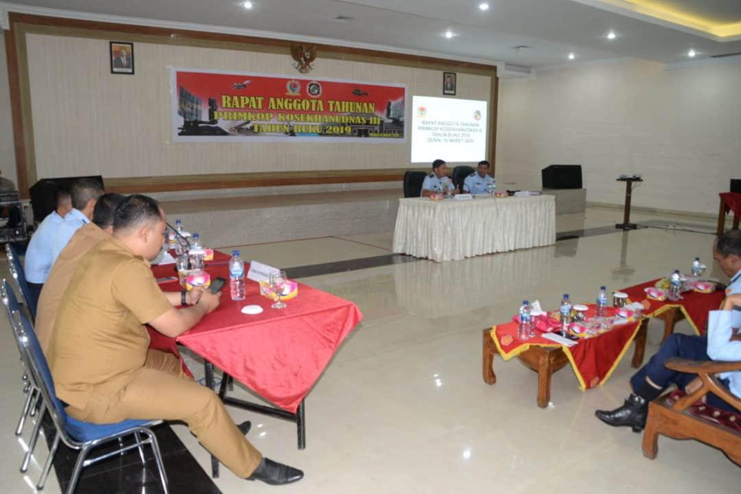 Rapat Anggota Tahunan Primer Koperasi Kosekhanudnas III