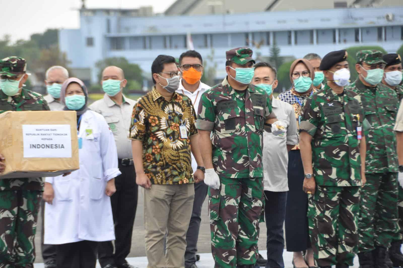 Koopsau I Gerak Cepat Bentuk Satuan Tugas PPC19, Alat Kesehatan diterima di Lanud HLM