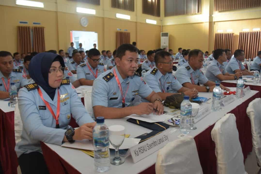 """Rakorniskesau Di RSAU Dr. M. Salamun Bandung """"Inovasi dan kreasi juga harus terus dikembangkan"""""""