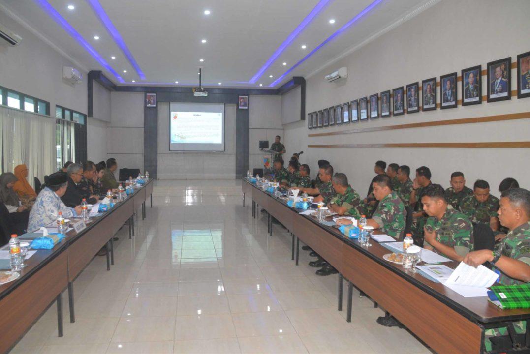 Kunjungan Komisi I DPR RI di Satuan TNI Wilayah Kalimantan Selatan
