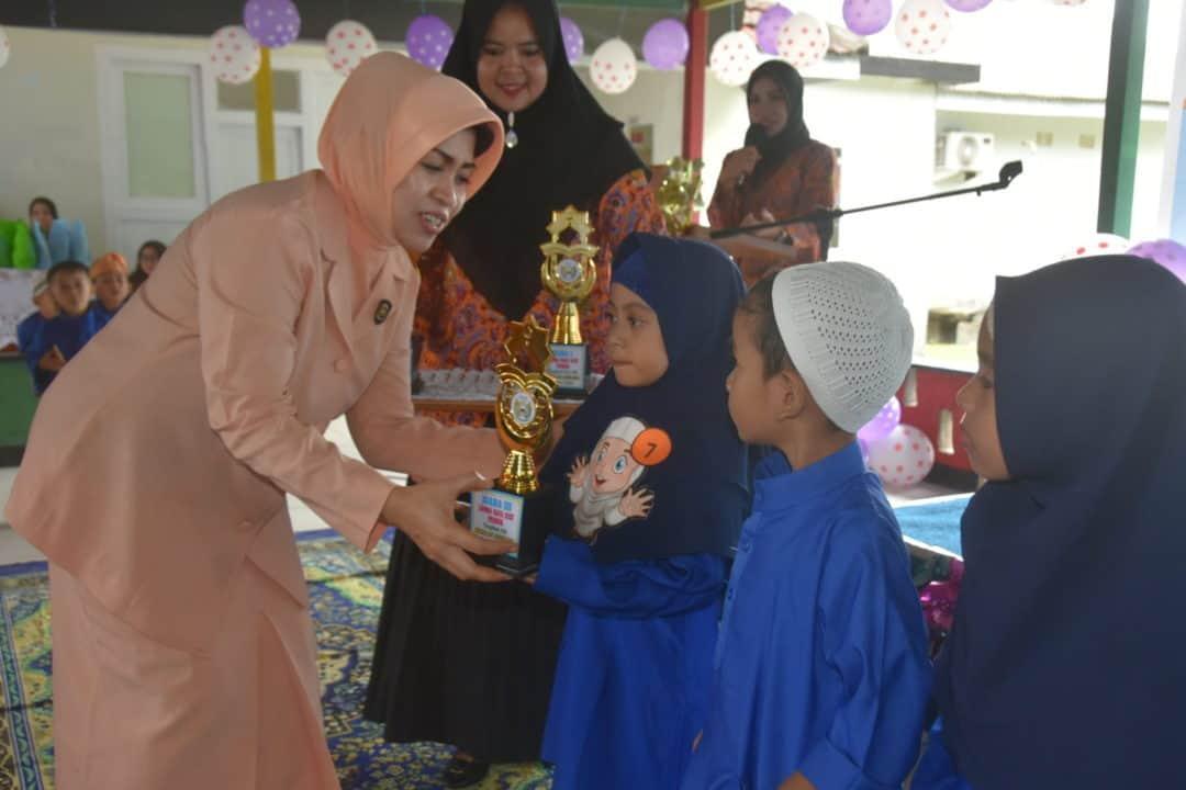 TK Angkasa Lanud Raden Sadjad Gelar Lomba Anak Ceria