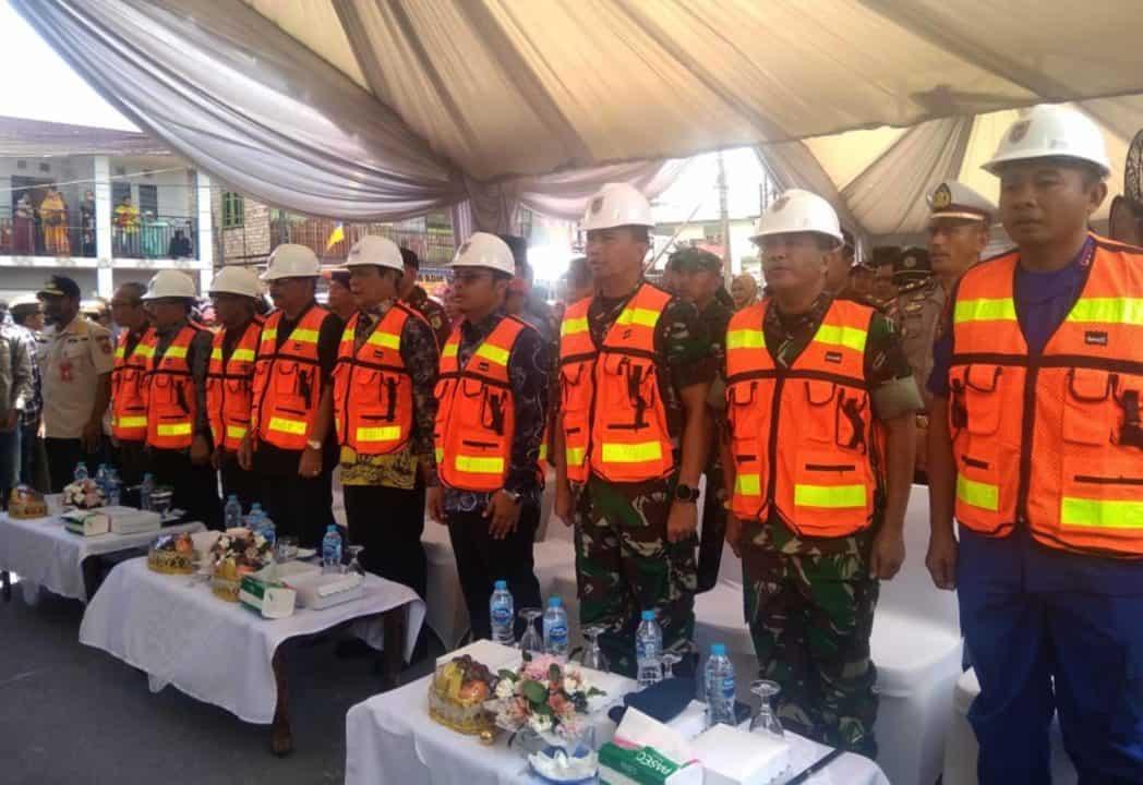 Komandan Lanud Sjamsudin Noor Hadiri Peresmian Jembatan Sungai Lulut