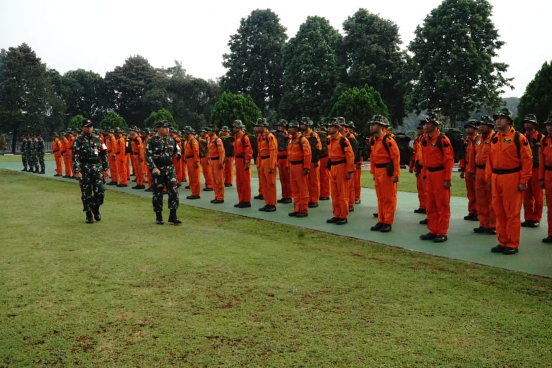 Dilatih Survival Tempur, 60 Awak pesawat dilatih di Waduk Jatiluhur