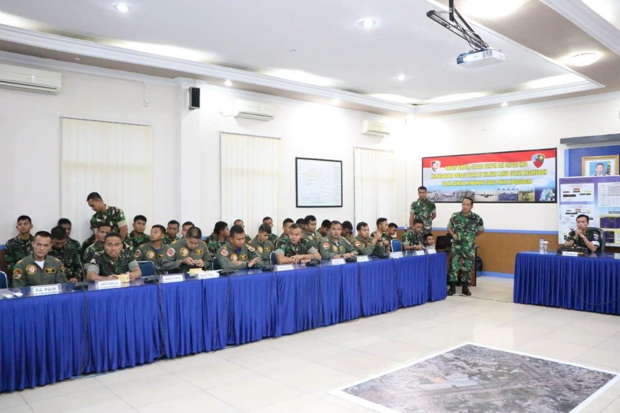 Latihan Sriti Gesit Lanud Sultan Hasanuddin TNI AU Libatkan 550 Prajurit