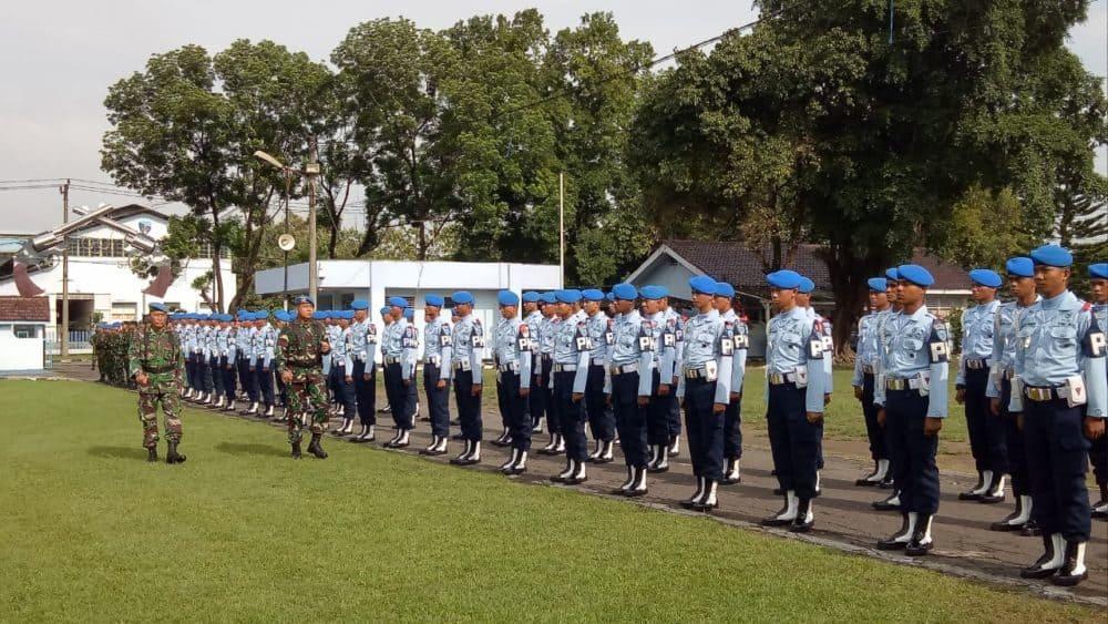 Pembukaan Latihan Praktis Siswa Sejursarta Pomau A-49 di Lanud Adi Soemarmo