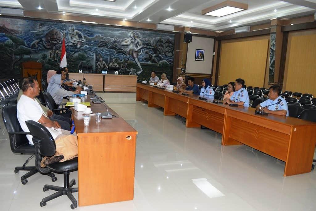 Wawancara dan Tes Psikologi Orang Tua Calon Siswa SMA Pradita Dirgantara di Lanud Abdulrachman Saleh