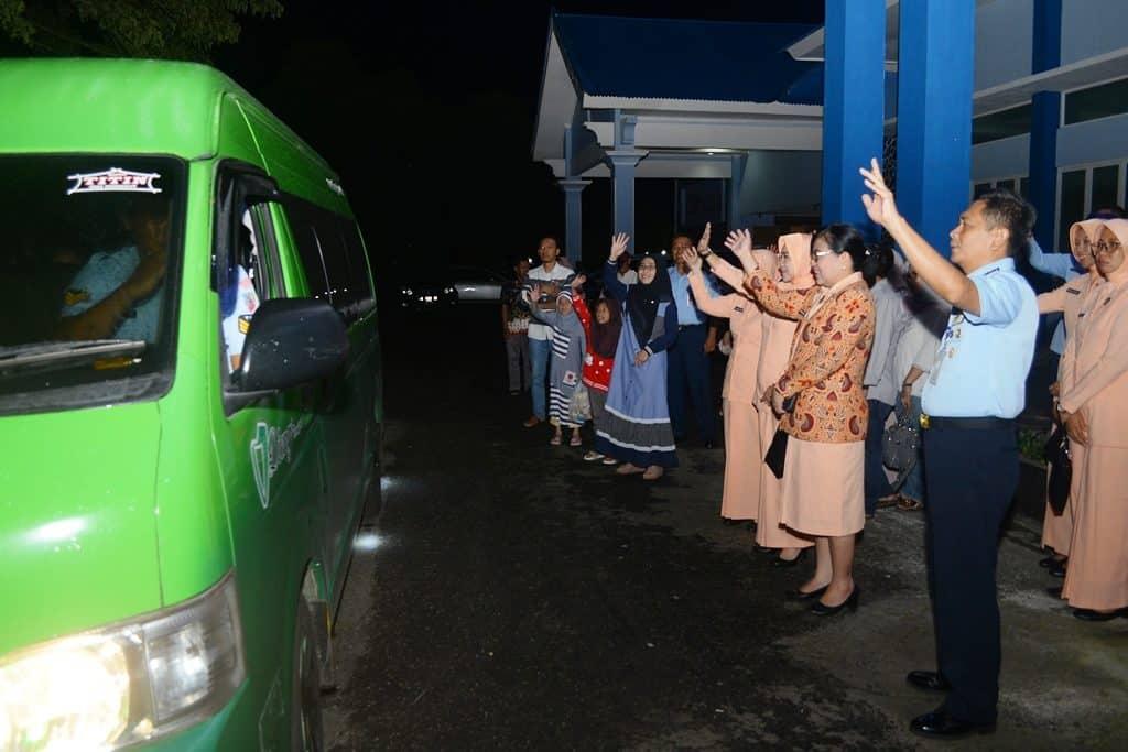 Panitia Daerah Lanud Abd Saleh Kirimkan 8 Calon Siswa SMA Pradita Dirgantara