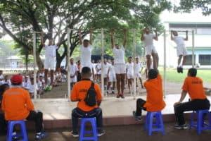 419 Calon Tamtama PK TNI AU Panda Lanud Iswahjudi Mulai Mengikuti Seleksi Kesamaptaan Jasmani.