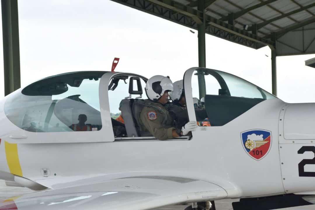Danlanud Adisutjipto Laksanakan Solo Flight Check Siswa Sekbang Angkatan 98