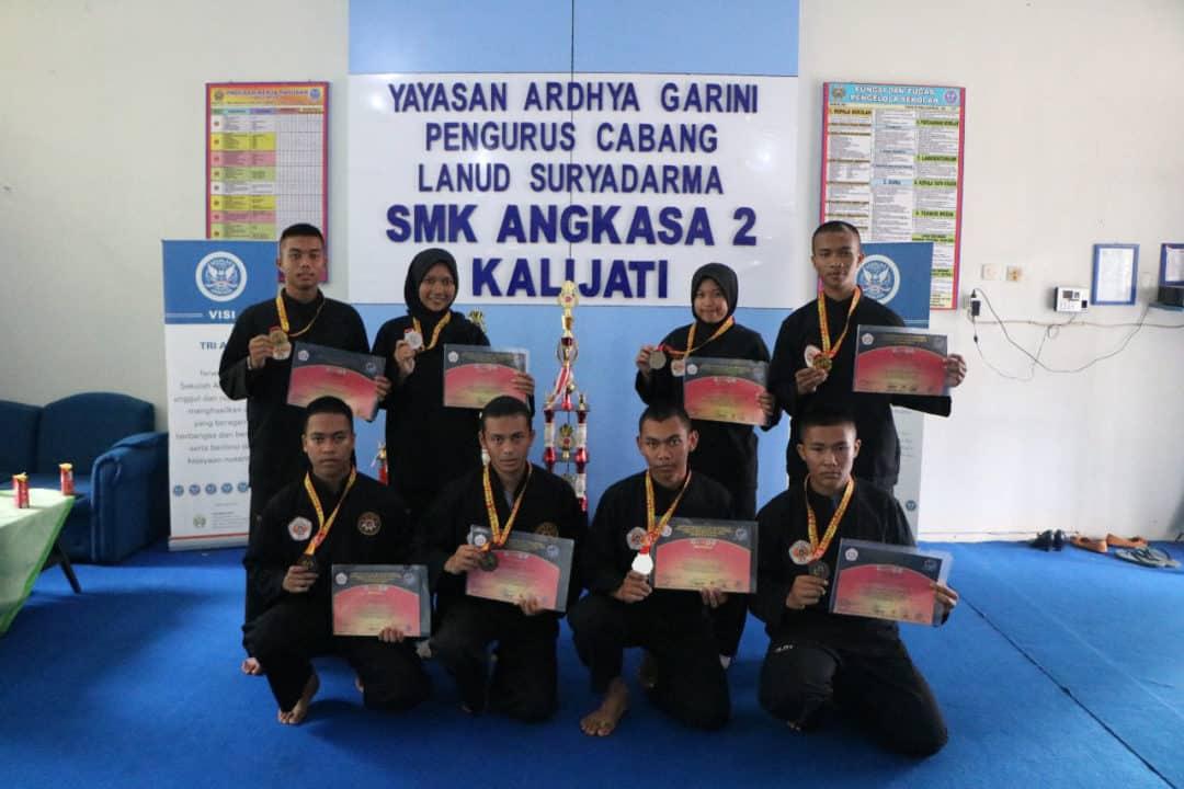 SMK Angkasa 2 Kalijati Borong Medali di Ajang Paku Bumi Open Championship