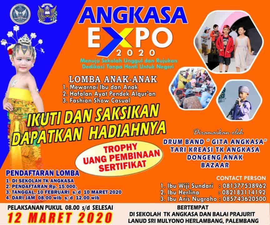Saksikan Serunya Angkasa Expo 2020 di Lanud SMH