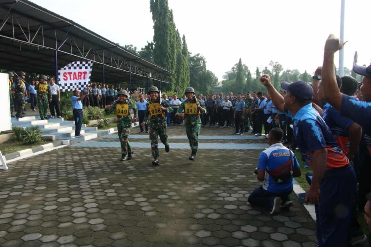 Cross Country, awali pertandingan olahraga antar satuan di Lanud Adisutjipto