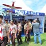 """Jambore Aero Sport 2020, Tampilkan Trailer Film Serigala Langit, Stand Dispenau """"Diserbu"""" Pengunjung"""