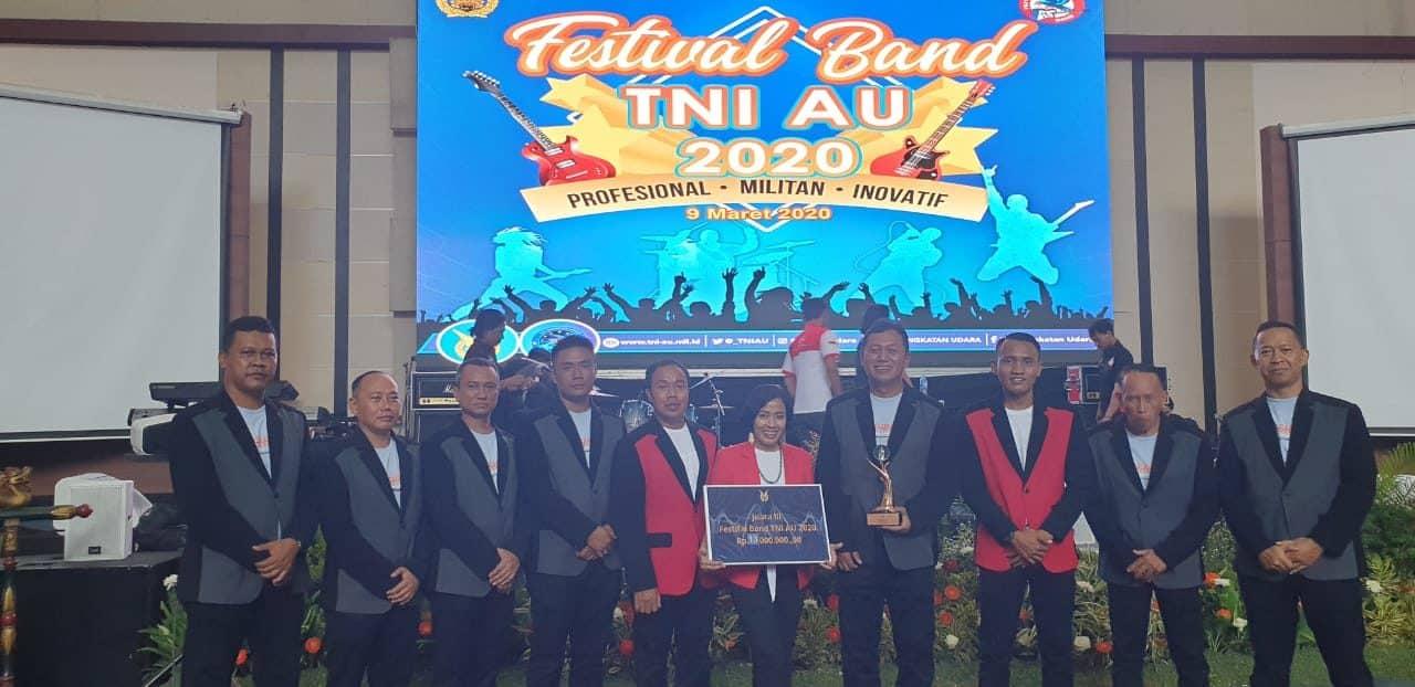 Adis Band raih Juara III dalam Festival Band TNI Angkatan Udara