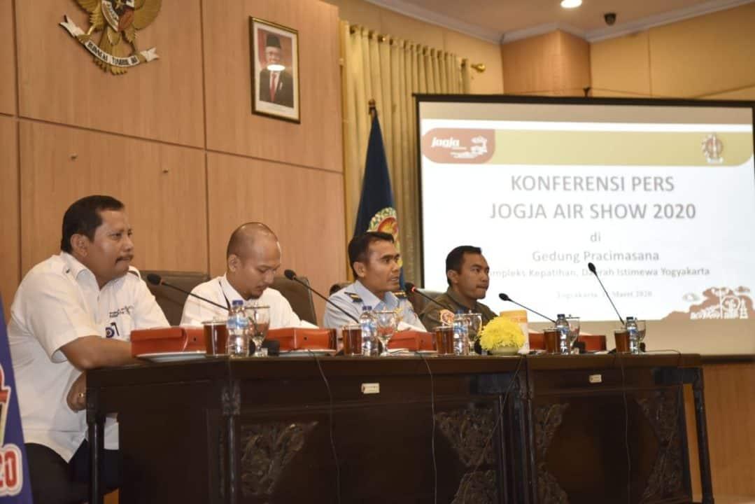 Konferensi Pers Jogja Air Show 2020
