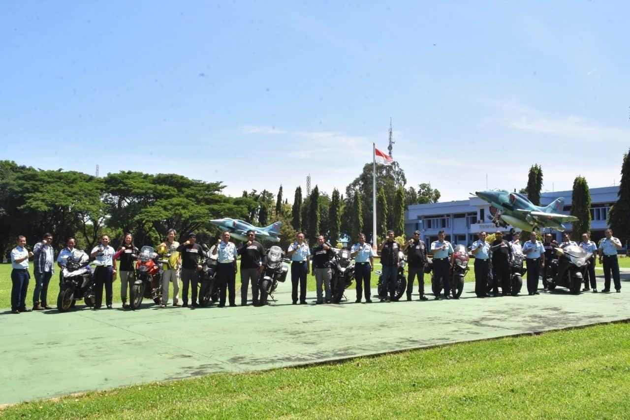 Pangkoopsau II Menerima Kunjungan Pengurus Motor Besar Indonesia (MBI) Bandung