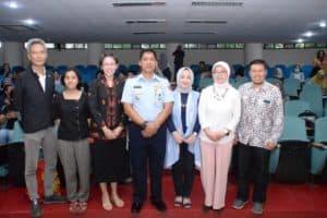 Danlanud Husein Sastranegara Berikan Kuliah Umum ke Mahasiswa ITB