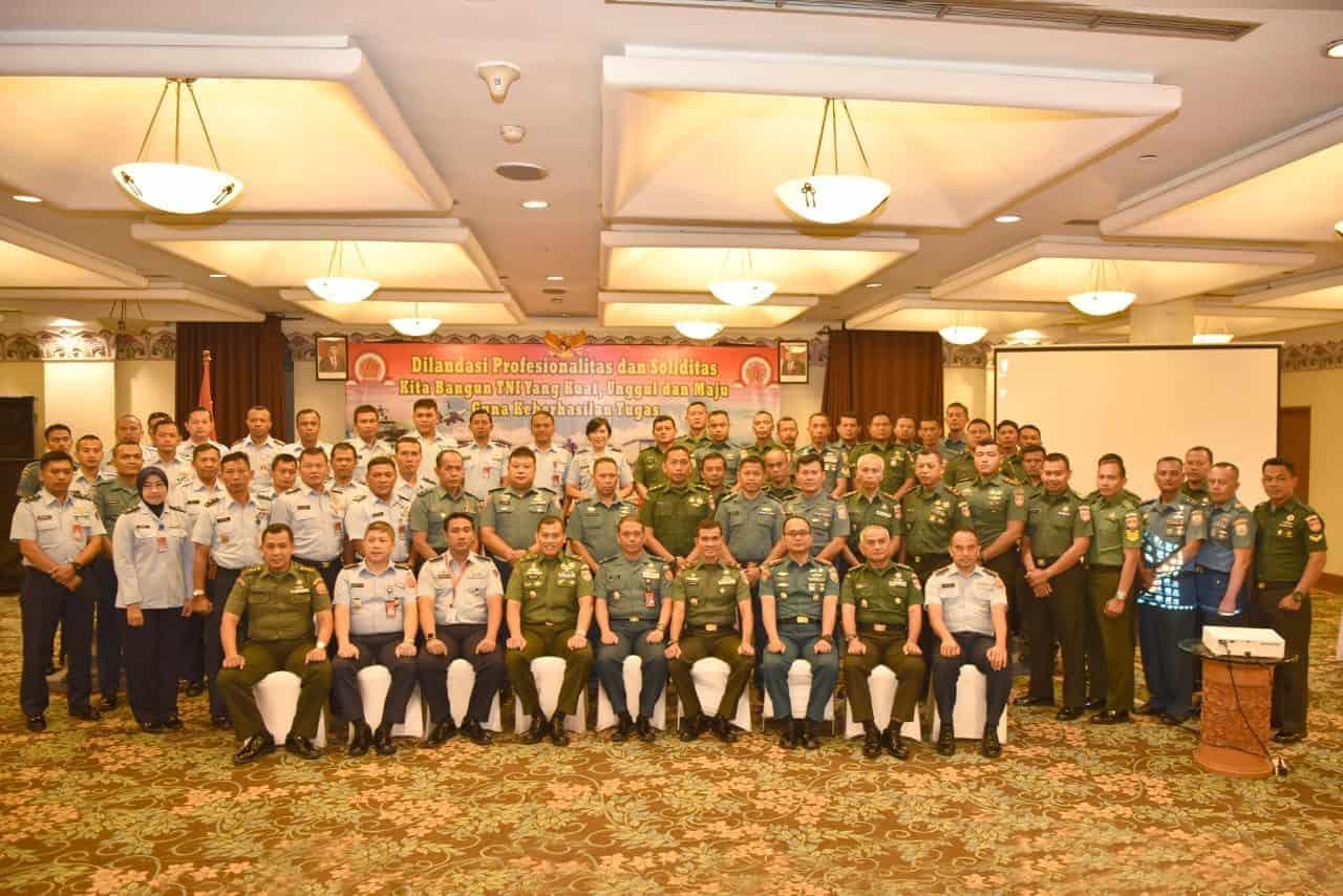 Pusbintal TNI Laksanakan Simulasi Pancasila di Yogyakarta