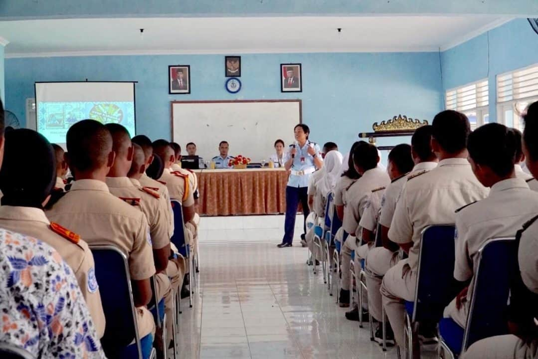 Sekolah Angkasa Adiutjipto terima Sosialisasi Tertib berlalu-lintas, edukasi Narkoba dan Virus Corona serta Profil Prajurit TNI AU