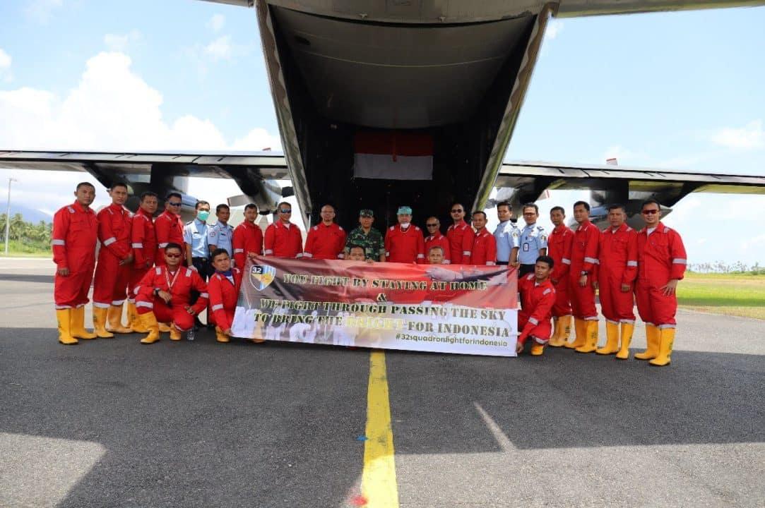 Pangkoopsau II Memerintahkan Pengecekan Kesiapan Pesawat C-130 Hercules