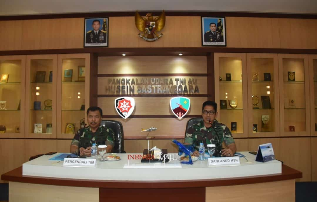Entry Briefing Wasrikkap Itjenau Di Lanud Husein Sastranegara