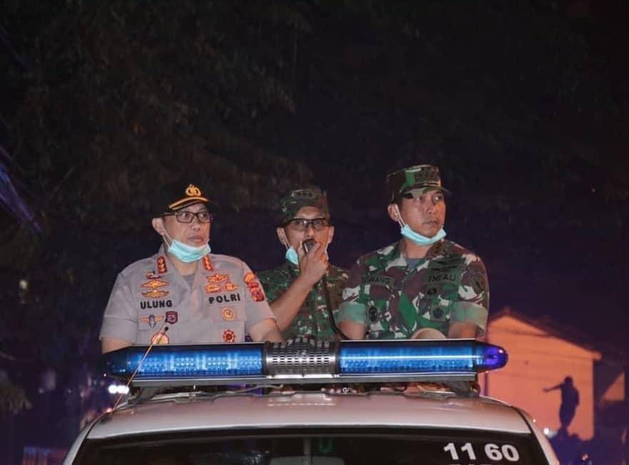 Patroli Gabungan TNI Polri, Antisipasi Penyebaran Covid-19