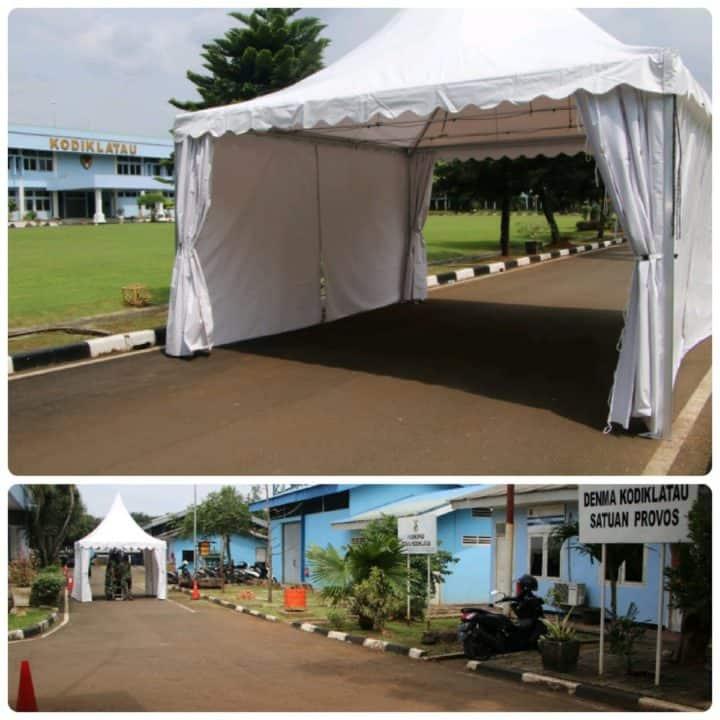 Makodiklatau Menerima 2 Unit Tenda
