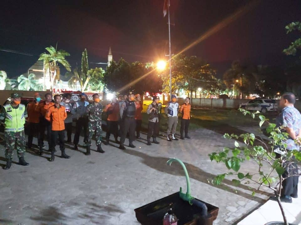 Apel Gabungan Pencegahan Covid – 19 di Kabupaten Tulang Bawang