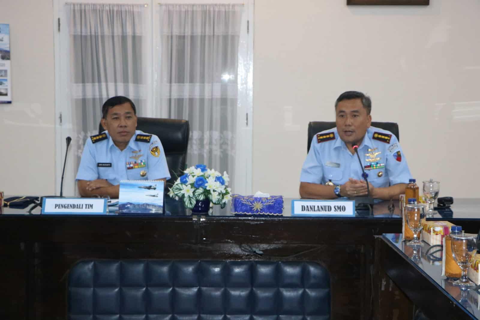 Inspektorat Kodiklatau Laksanakan Wasrikap di Lanud Adi Soemarmo