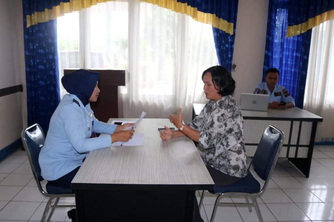 Lanud Sjamsudin Noor Laksanakan Verifikasi Pendaftaran SMA Pradita Dirgantara