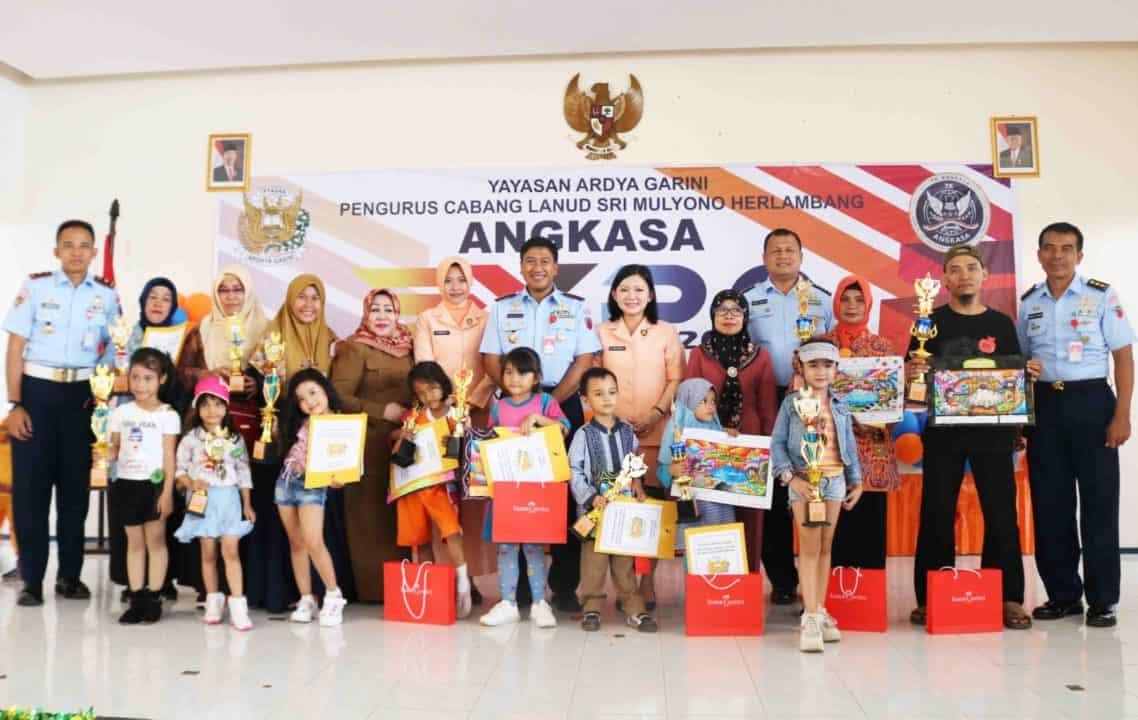 Ketua Yasarini Lanud SMH: Ratusan Anak TK Ikuti Angkasa Expo 2020 di Lanud SMH
