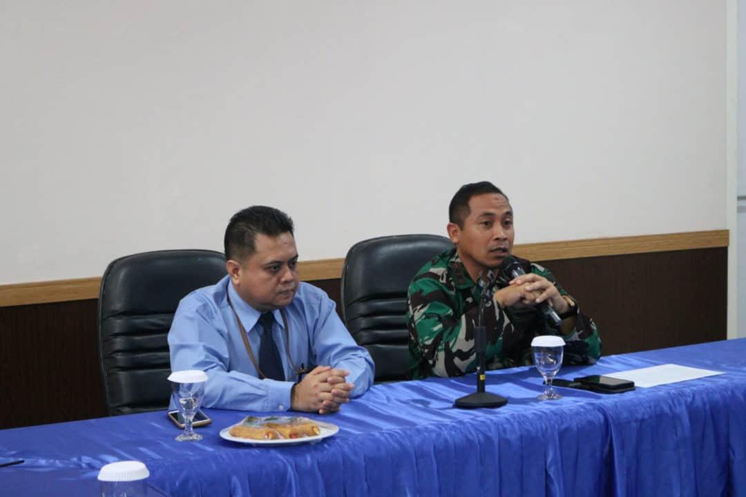 Lanud YKU Terima Tim Sosialisasi SPT Tahunan Dari KPP Pratama Timika