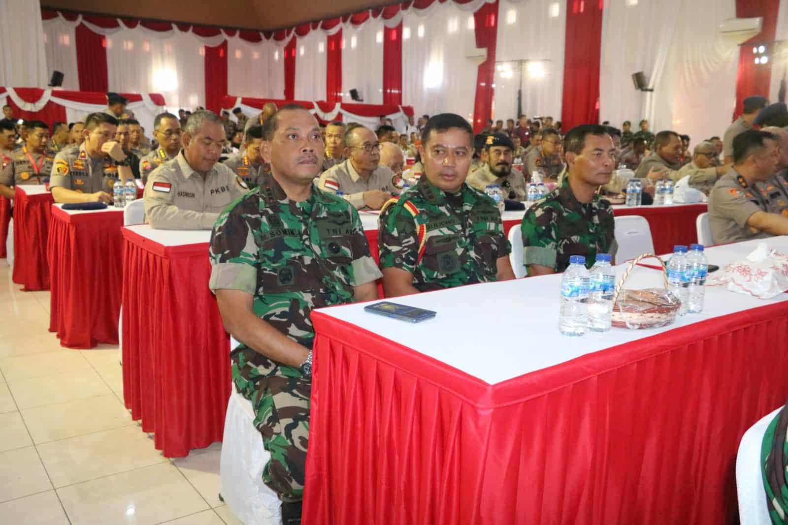 Danlanud Muljono Hadiri Rakornis Brimob di Watukosek Pasuruan