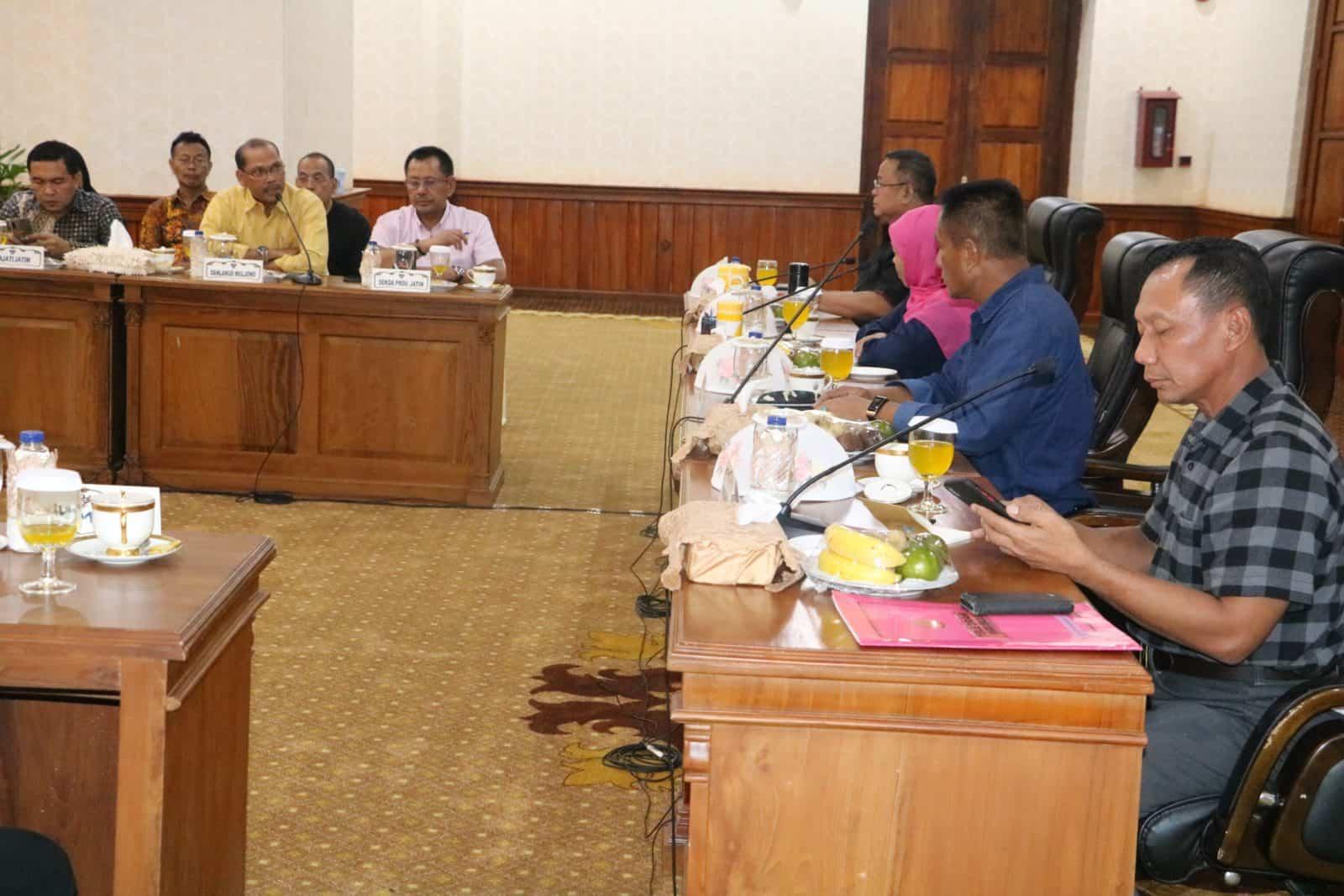 Komandan Lanud Muljono hadiri rapat terbatas penanganan Covid-19