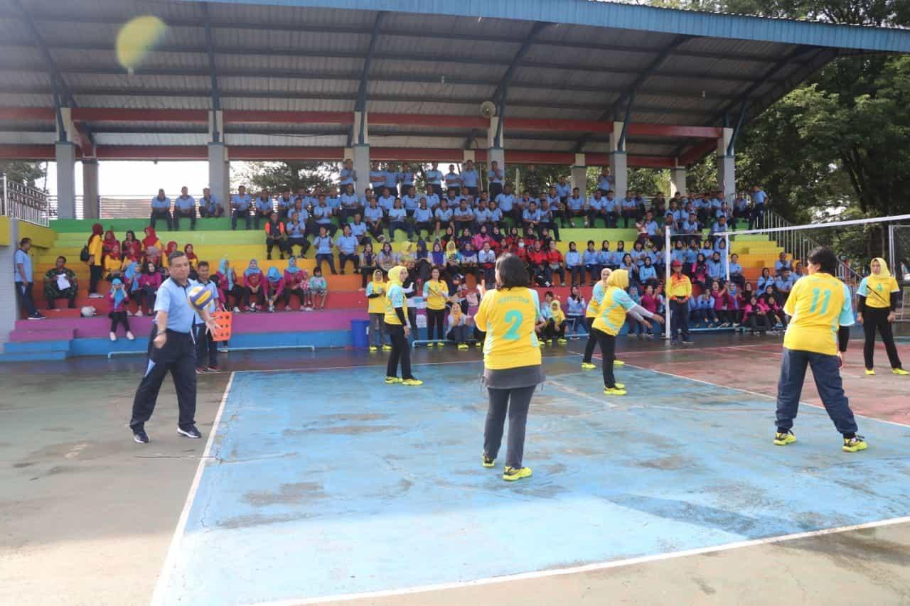 Lanud Abd Saleh Gelar Pertandingan Olahraga Jelang HUT TNI AU ke-74