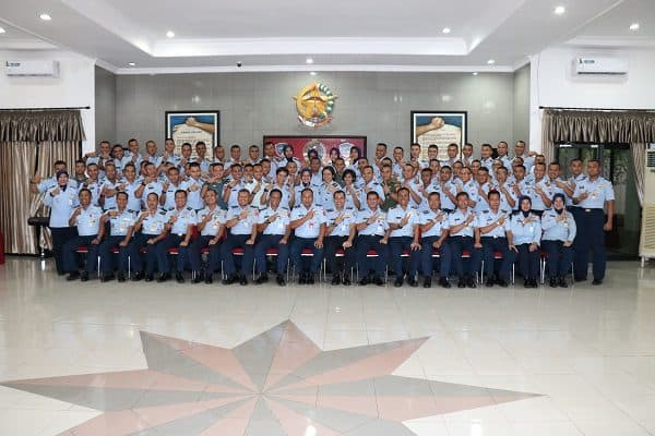 Orientasi Pasis Sekkau Angkatan Ke-107 Di Kosekhanudnas II Makassar