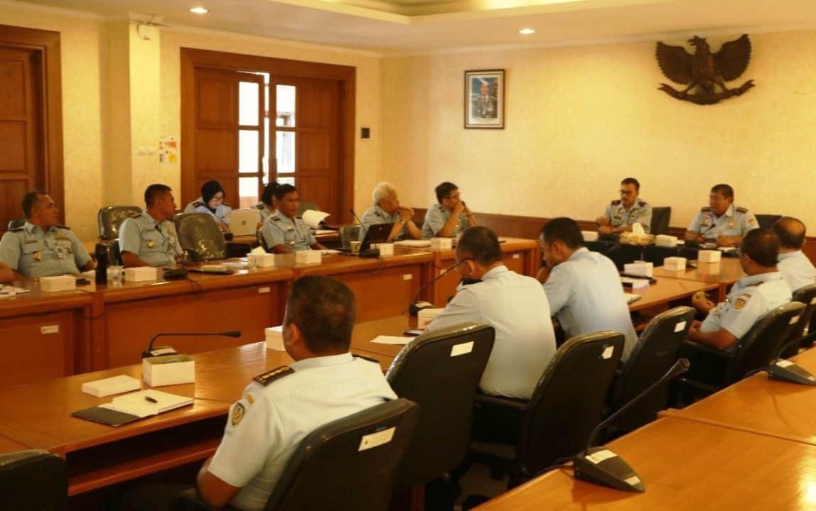 Rapat Koordinasi Validasi Organisasi di Seskoau