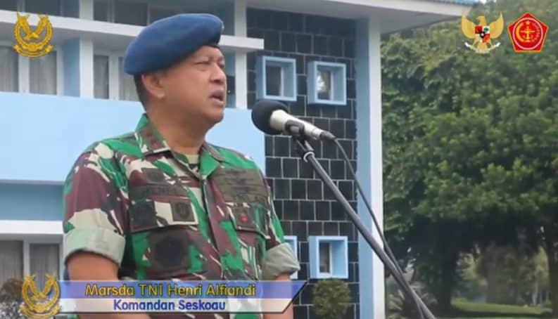 Pencegahan Penyebaran Covid-19 di Sekolah Staf dan Komando Angkatan Udara (Seskoau, Lembang)