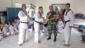 Dojang Taekwondo Lanud Sugiri Sukani Rayakan Hari Jadinya Yang Ke-5