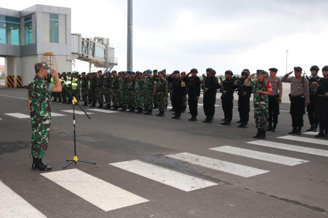 Komandan Lanud Sugiri Sukani Bertindak Sebagai Dansubsatgas Pada Proses Evakuasi WNI ABK Diamond Princess Cruise di BIJB Kertajati