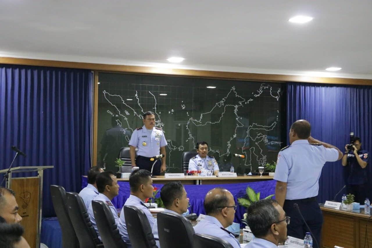 Pangkoopsau I Buka Taklimat Awal Wasrikkap Itjenau Makoopsau I dan Lanud jajaran di Lanud Halim Perdana Kusuma