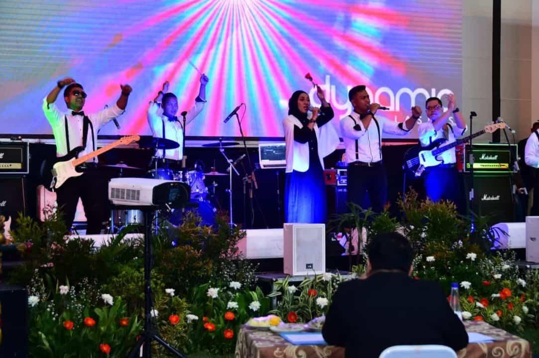 Tampil Memukau Pada Festival Band TNI AU Tahun 2020, Ini Dia Personel Fighter Band Lanud Iswahjudi