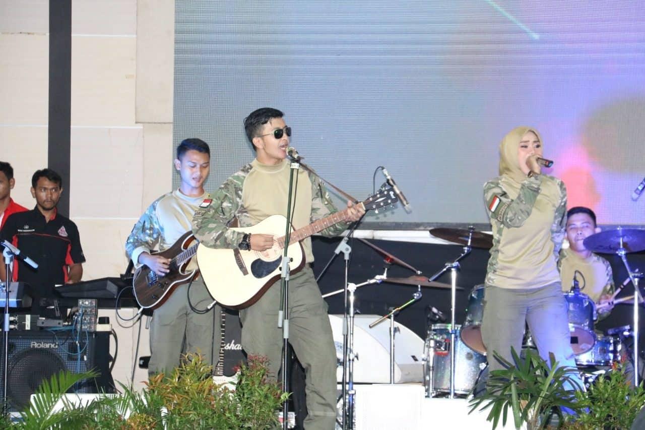 """""""Antarikshe Band"""" Tampil di Festival Band TNI AU Tahun 2020"""