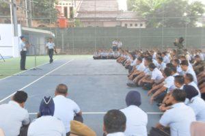 Danpom Koopsau I Ceramah Disiplin Prajurit dan ETLE di Makoopsau I