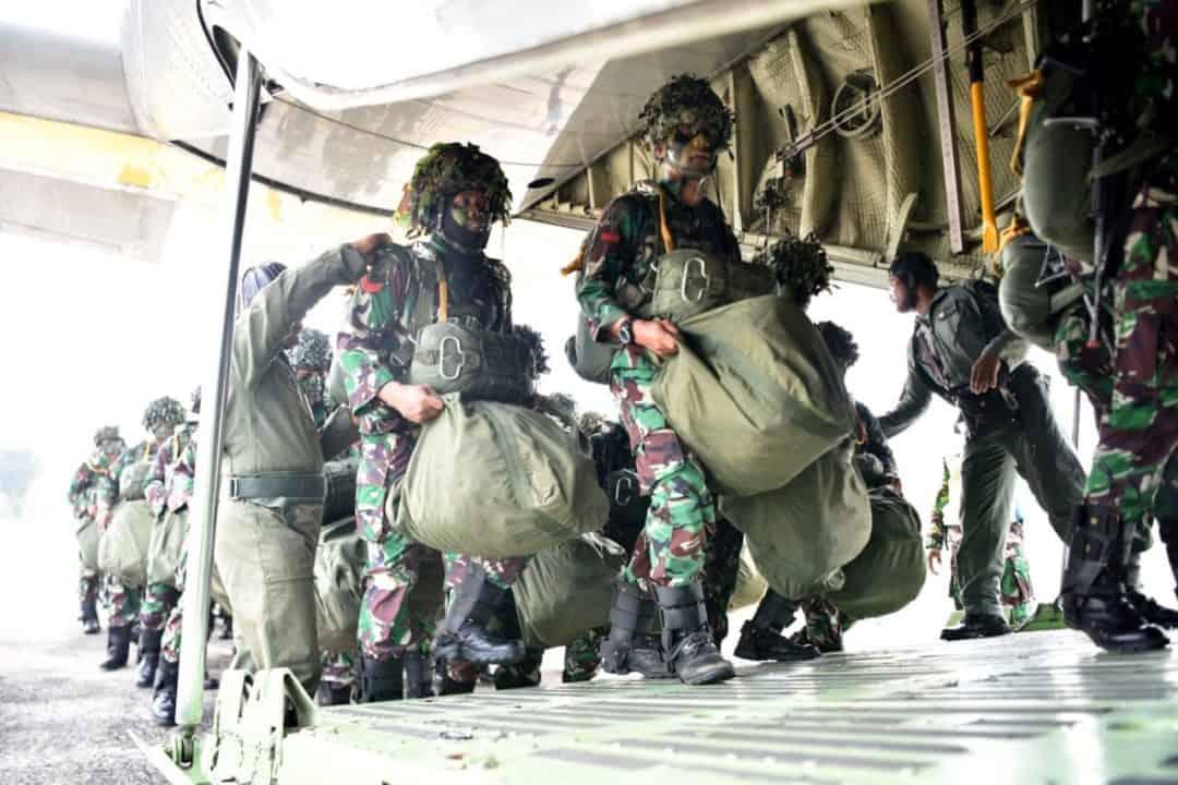 Jungar Batalyon Komando 463 Paskhas Di Lanud Iswahjudi