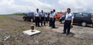 Tim Wasrik Itjenau Kunjungi Lanud Sutan Sjahrir