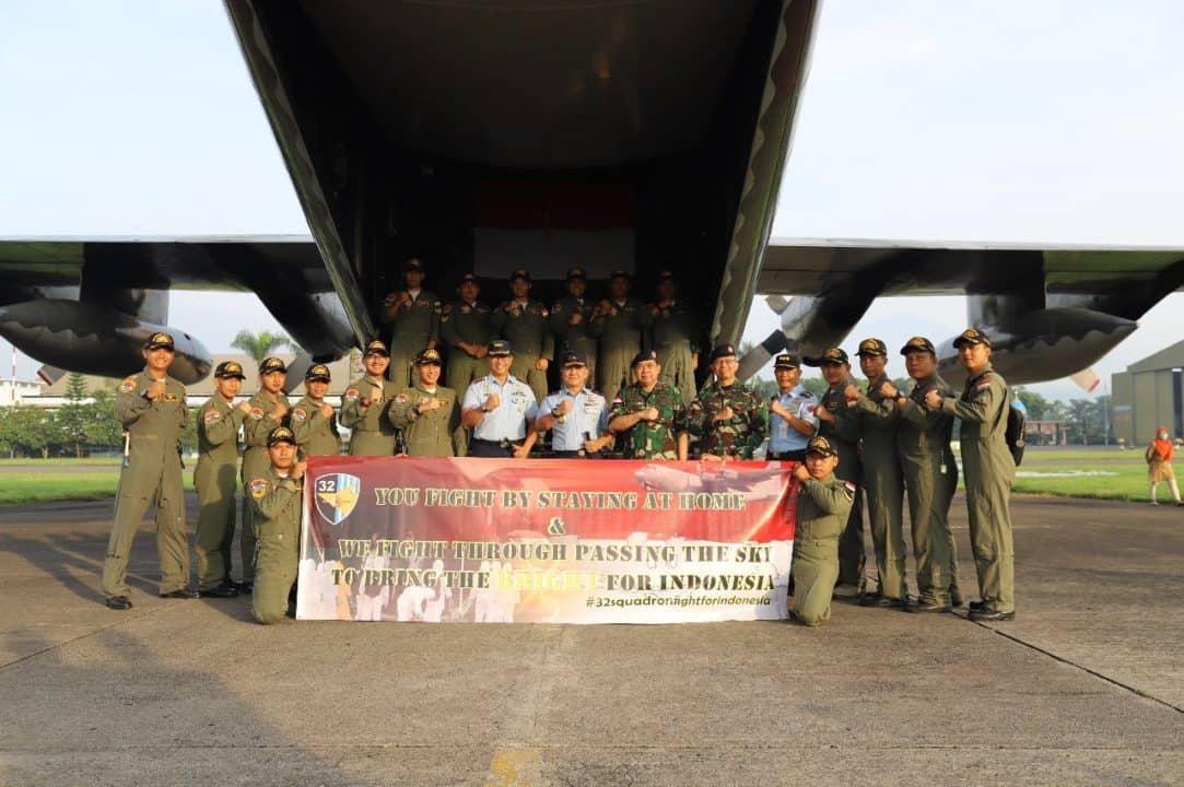 Panglima TNI Kerahkan Hercules ke Shanghai Angkut Alkes Covid-19