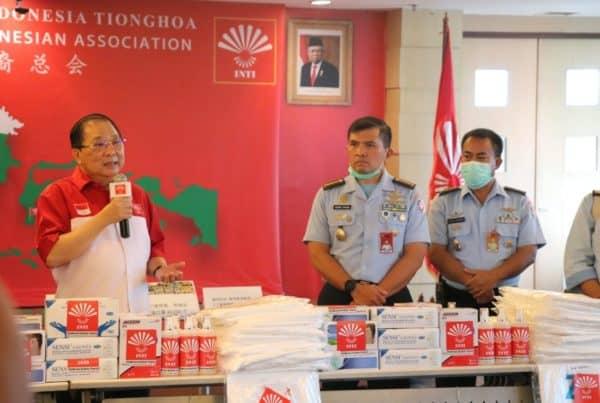 Lagi, Koopsau I Terima Alat Kesehatan Bantuan dari Perhimpunan INTI