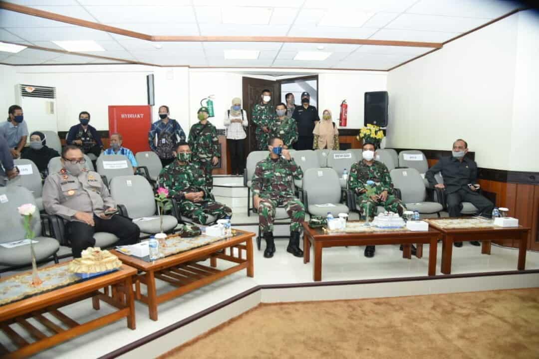 Komandan Lanud Sjamsudin Noor Hadiri Rapat Paripurna DPRD Kalimantan Selatan