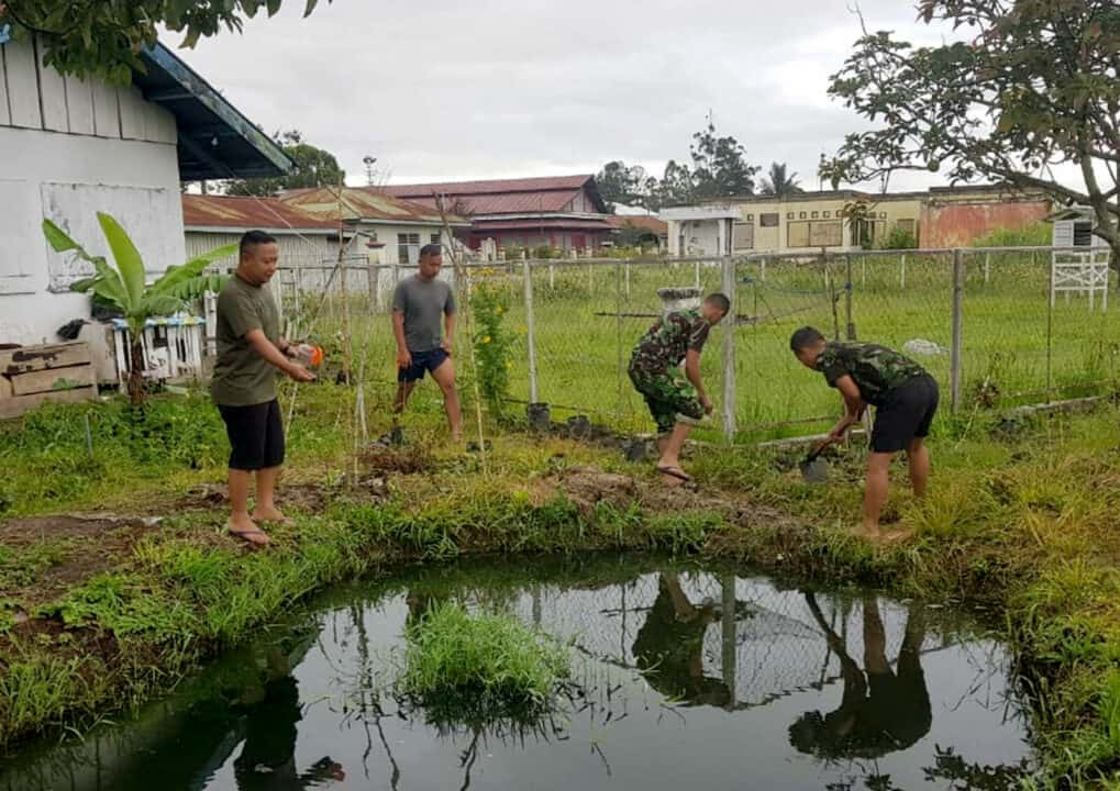 Program Ketahanan Pangan Satgas Pamrahwan Yonko 462 Paskhas Pos Wamena Dalam Hadapi Covid 19